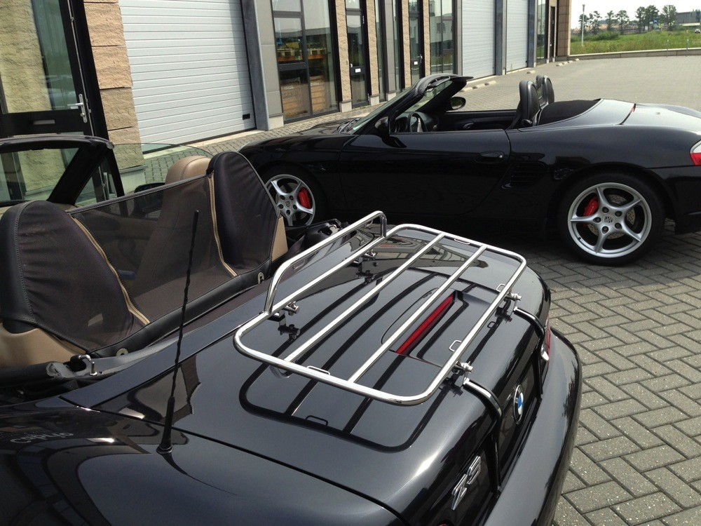 Bmw Z3 Roadster Stainless Steel Boot Luggage Rack
