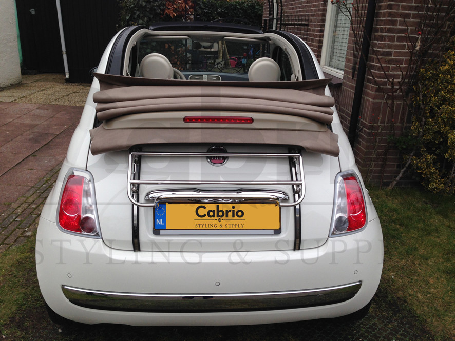 fiat 500c convertible boot luggage rack carrier 2009 present new cabrio ebay. Black Bedroom Furniture Sets. Home Design Ideas
