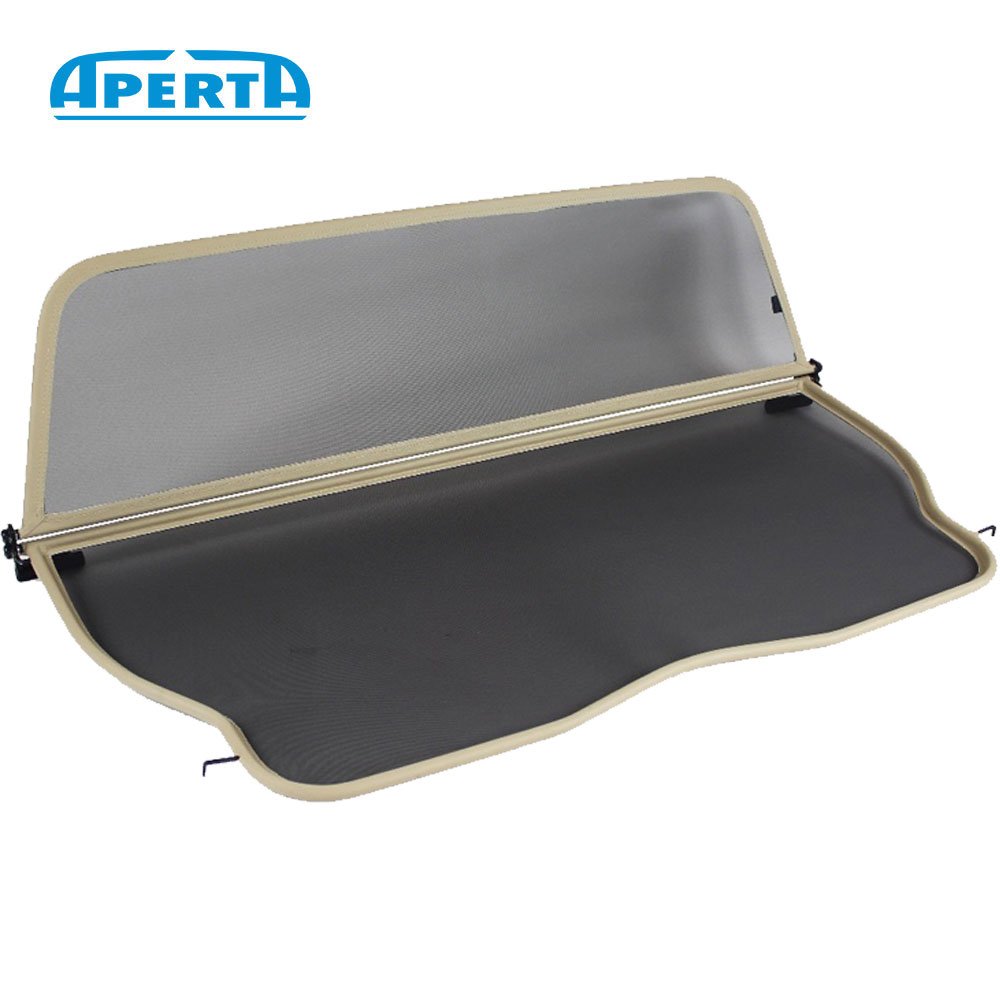 TAN WIND DEFLECTOR BAG BMW E30 CONVERTIBLE 1985-1993 WINDSTOPPER 3 SERIES