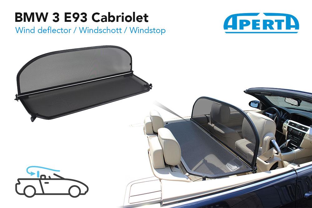 TASCHE /> 6 SERIES//6ER 2011-2018 WINDSTOP BMW F12 REIHE 6 CABRIOLET WINDSCHOTT