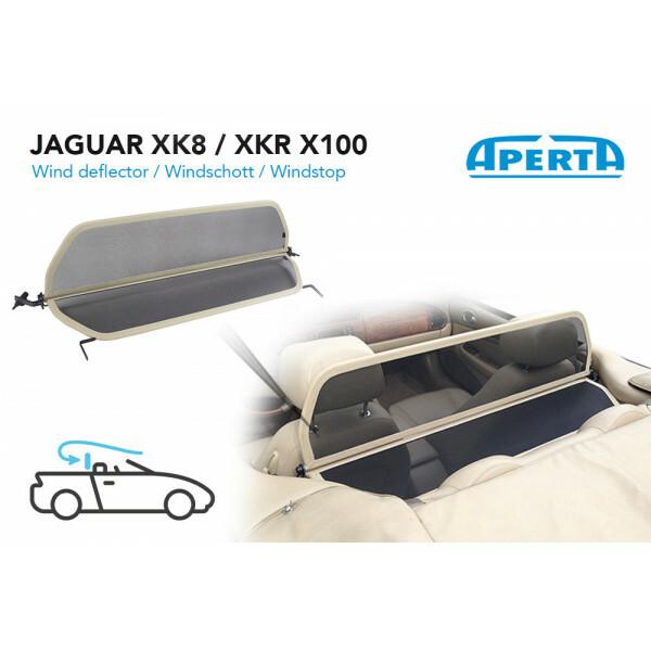 Jaguar XK8 / XKR X100 Windschott - Beige 1996-2006