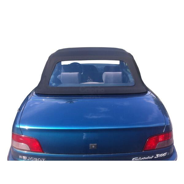 Peugeot 306 Cabrio PVC Heckscheibe