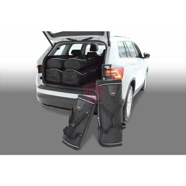 skoda kodiaq 2017 heute car bags reisetaschen 7 sitze. Black Bedroom Furniture Sets. Home Design Ideas
