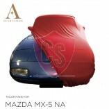 Mazda MX-5 NA Autoabdeckung - Maßgeschneidert - Rot
