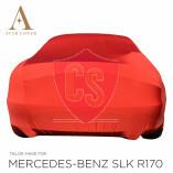 Mercedes-Benz SLK R170 Autoabdeckung - Maßgeschneidert  -Rot