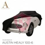 Austin-Healey 100 Autoabdeckung - Maßgeschneidert - Schwarz