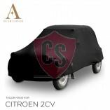Citroën 2CV Indoor Autoabdeckung - Maßgeschneidert - Schwarz