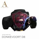 Donkervoort D8 Indoor Autoabdeckung - Maßgeschneidert - Schwarz