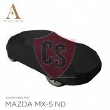Mazda MX-5 ND Autoabdeckung - Maßgeschneidert - Schwarz