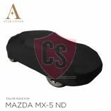 Mazda MX-5 RF Autoabdeckung - Maßgeschneidert - Schwarz