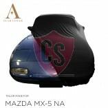 Mazda MX-5 NA Indoor Autoabdeckung - Maßgeschneidert - Schwarz