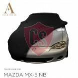 Mazda MX-5 NB Indoor Autoabdeckung - Maßgeschneidert - Schwarz
