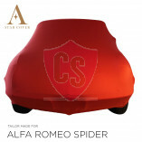Alfa Romeo Spider 105 115 Autoabdeckung - Maßgeschneidert - Rot