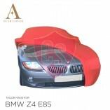 BMW Z4 E85 Indoor Autoabdeckung - Rot