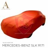 Mercedes-Benz SLK R171 Autoabdeckung - Maßgeschneidert  -Rot
