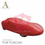 TVR Tuscan Cabrio Indoor Autoabdeckung - Maßgeschneidert - Rot