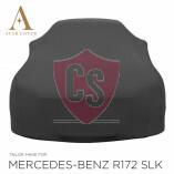 Mercedes-Benz SLK SLC R172 Autoabdeckung - Maßgeschneidert - Schwarz