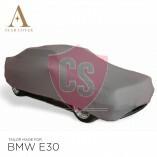 BMW 3'er Cabrio E30 Indoor Autoabdeckung - Maßgeschneidert - Silber