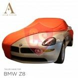 BMW Z8 E52 Indoor Autoabdeckung - Rot