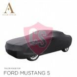 Ford Mustang 5 2005-2014 Autoabdeckung Schwarz
