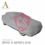 BMW 3'er Cabrio E46 Indoor Autoabdeckung - Maßgeschneidert - Silber