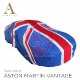 Aston Martin Vantage Roadster Indoor Autoabdeckung - Maßgeschneidert - Union Jack