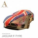 Union Jack Autoabdeckung M Fahrzeuglänge 420 - 470 cm