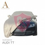 Audi TT 8J Roadster Wasserdichte Vollgarage - Spiegeltaschen