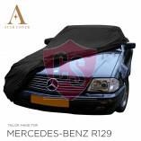 Mercedes-Benz R129 SL Wasserdichte Vollgarage - Star Cover - Spiegeltaschen