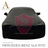Mercedes-Benz SLK R170 Wasserdichte Vollgarage - Spiegeltaschen - Schwarz
