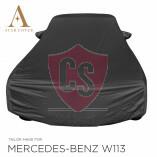 Mercedes-Benz W113 Wasserdichte Vollgarage - Star Cover - Spiegeltaschen