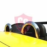 Fiat Barchetta Windschott für Roadsterbügel - Schwarz 1995-2005