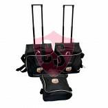 Abarth 124 Spider 2016-2020 Reisetaschen Kofferset mit Aufdrück
