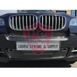 BMW X5 E70 Edelstahl Kühlergrill 2-Teilig