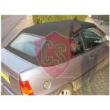 Opel Kadett E Stoff Verdeck Heckscheibe 1986-1993