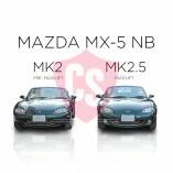 Mazda MX-5 NB Edelstahl Kühlergrill 1-Teilig 1998-2002 bis Facelift