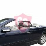 Mercedes-Benz C-Klasse CLK A208 Aluminium Windschott - Schwarz 1998-2003