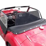 Triumph TR3 Windschott - Schwarz 1955-1962