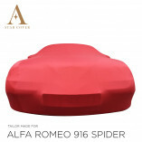 Alfa Romeo 916 Spider Autoabdeckung - Maßgeschneidert - Rot