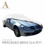 Mercedes-Benz SLK R171 Autoabdeckung - Maßgeschneidert - Grau