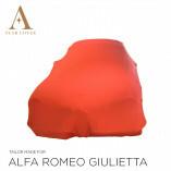 Alfa Romeo Giulietta Spider Autoabdeckung - Maßgeschneidert - Rot