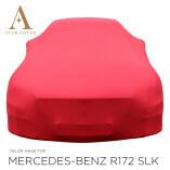 Mercedes-Benz SLK SLC R172 Autoabdeckung - Maßgeschneidert - Rot