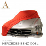 Mercedes-Benz 300SL Roadster Autoabdeckung - Maßgeschneidert - Rot