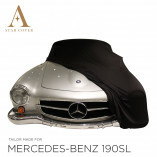 Mercedes-Benz 190SL Autoabdeckung - Maßgeschneidert - Schwarz