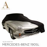 Mercedes-Benz 300SL Roadster Indoor Autoabdeckung - Maßgeschneidert - Schwarz