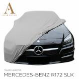 Mercedes-Benz SLK SLC R172 Autoabdeckung - Maßgeschneidert - Grau