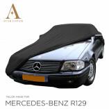 Mercedes-Benz R129 SL Indoor Autoabdeckung - Maßgeschneidert - Schwarz