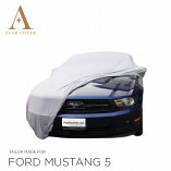 Ford Mustang 5 2005-2014 Autoabdeckung Silber