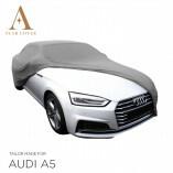 Audi A5 Cabrio Indoor Autoabdeckung - Maßgeschneidert - Silber