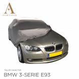 BMW 3'er Cabrio E93 Indoor Autoabdeckung - Maßgeschneidert - Silber
